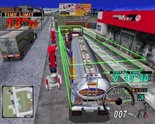 Ce mini-jeu ressemble vraiment beaucoup à Crazy Taxi ... hein?